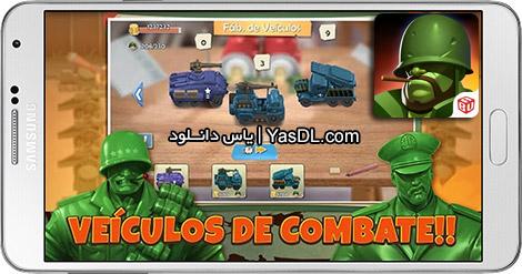 دانلود بازی Commander of Toy 2.2.7 - فرماندهی اسباب بازی ها برای اندروید