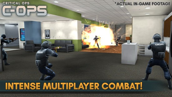 Critical Ops 0.9.8.f452 - Critical Operation For Android + Infinite Edition + Data