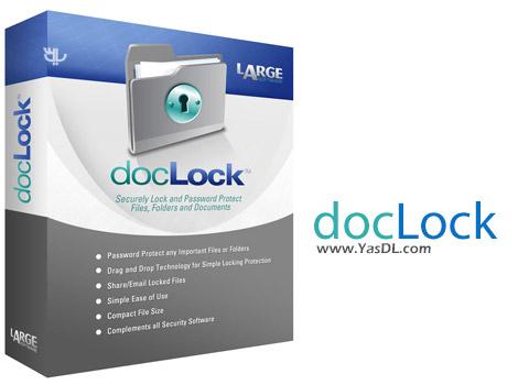 دانلود DocLock 2.1.1.1 - نرم افزار محافظت و رمزگذاری داده ها