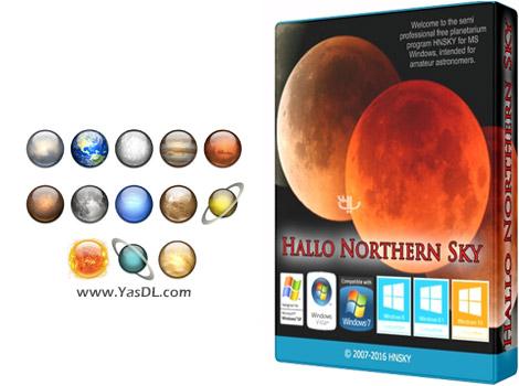 دانلود Hallo Northern Sky 3.2.2g + Portable - نرم افزار تخصصی نجوم
