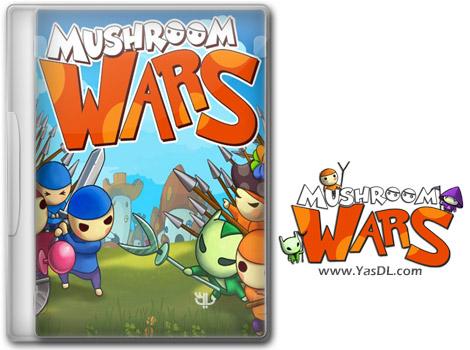 دانلود بازی کم حجم Mushroom Wars برای کامپیوتر