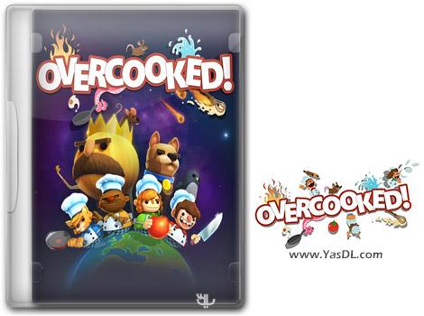 دانلود بازی کم حجم Overcooked برای کامپیوتر