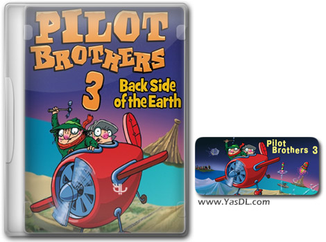 دانلود بازی کم حجم Pilot Brothers 3 Back Side of the Earth برای کامپیوتر