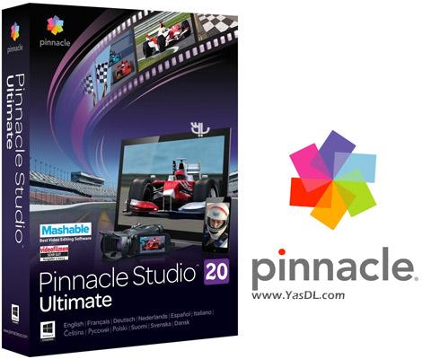 دانلود Pinnacle Studio Ultimate 20.5.0 x86/x64 - استودیو ویرایش فیلم