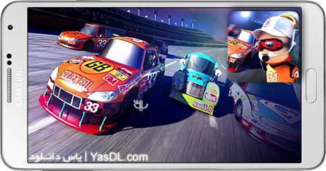 دانلود بازی Pit Stop Racing Club vs Club 1.1.4 - مسابقات اتومبیل رانی حرفه ای برای اندروید