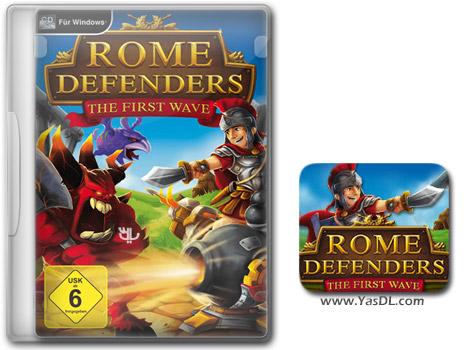 دانلود بازی کم حجم Rome Defenders The First Wave برای کامپیوتر