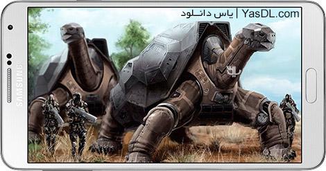 دانلود بازی War Tortoise 1.00.08.4 - جنگ لاکپشت برای اندروید + دیتا