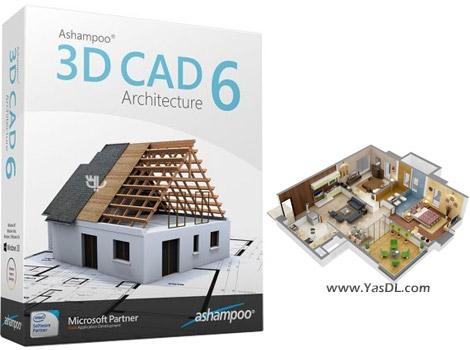 دانلود Ashampoo 3D CAD Architecture 6.0 - نقشه کشی 3 بعدی