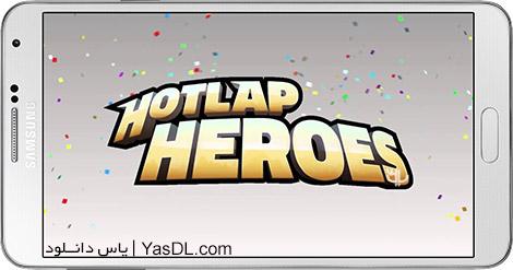 دانلود بازی Hotlap Heroes 1.1.1 - مسابقات اتومبیل رانی چند نفره برای اندروید + دیتا