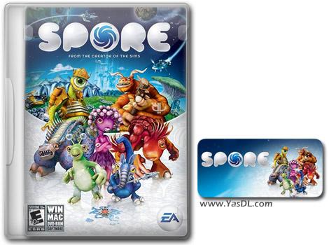 دانلود بازی SPORE Collection برای PC