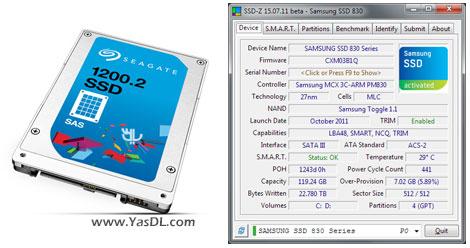 دانلود SSD-Z 16.09.08b - نمایش اطلاعات حافظه های SSD