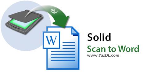 دانلود Solid Scan to Word 9.1.7212.1984 - تبدیل PDF و عکس به فایل های ورد