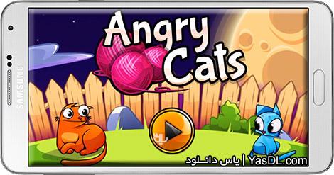 دانلود بازی Angry Cats 1.0.11 - گربه های خشمگین برای اندروید + پول بی نهایت