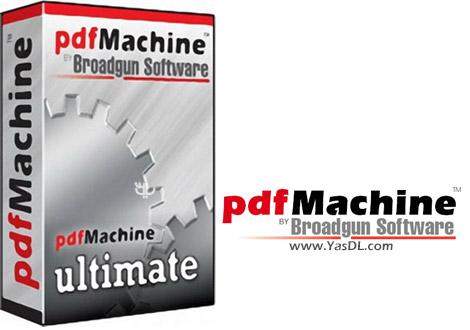 دانلود Broadgun pdfMachine Ultimate 14.94 - ساخت و ویرایش فایل های PDF