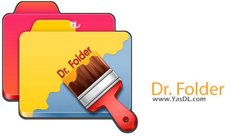دانلود Dr. Folder 2.3.0.0 - مدیریت و تغییر آیکون فولدرها در ویندوز