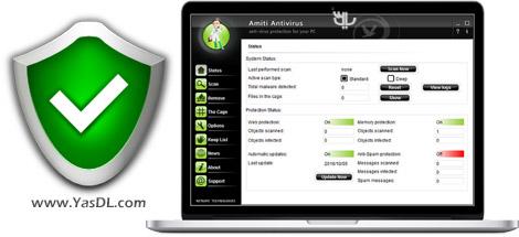 NETGATE Amiti Antivirus 2018 24.0.900 X86/x64 – Powerful Antivirus