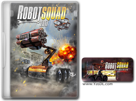 دانلود بازی Robot Squad Simulator 2017 برای PC