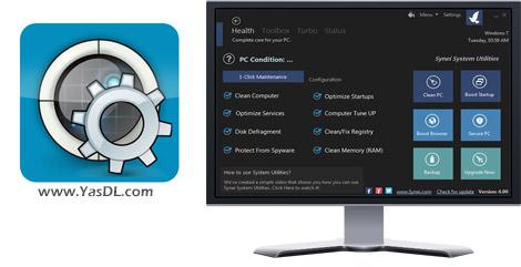 دانلود Synei System Utilities 4.0 - نرم افزار بهینه سازی و افزایش سرعت سیستم