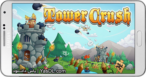 Tower Crush 1.1.45 For Android + Infinite Money