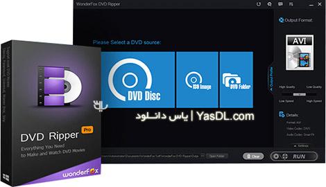 دانلود WonderFox DVD Ripper Pro 8.1 - ریپ دیسک های DVD