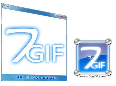 دانلود 7GIF 1.2.0 + Portable - نرم افزار پلیر انیمیشن های GIF