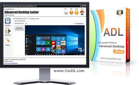 دانلود Advanced Desktop Locker Professional Edition 6.0 - نرم افزار قفل دسکتاپ ویندوز