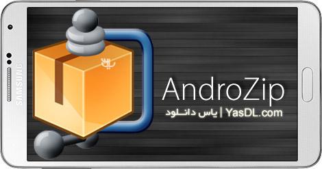 دانلود AndroZip PRO File Manager 4.7.2 - مدیریت حرفه ای فایل ها در اندروید