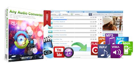 دانلود Any Audio Converter 6.0.5 + Portable - مبدل حرفه ای فایل های صوتی