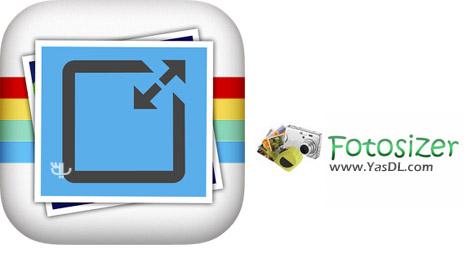 دانلود FotoSizer 3.01.0.550 + Portable - نرم افزار تغییر اندازه تصاویر