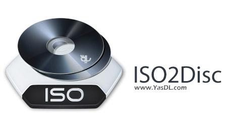 دانلود ISO2Disc 1.10 + Portable - رایت آسان ایمیج های ISO بر روی CD/DVD/USB