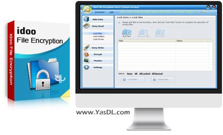دانلود Idoo File Encryption Pro 8.1.0 - نرم افزار رمزگذاری فایل ها