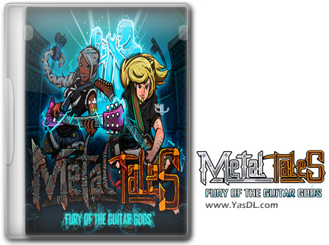 دانلود بازی Metal Tales Fury of the Guitar Gods برای PC