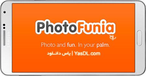 دانلود PhotoFunia 4.0.2.0 - نرم افزار محبوب فوتو فانیا برای اندروید
