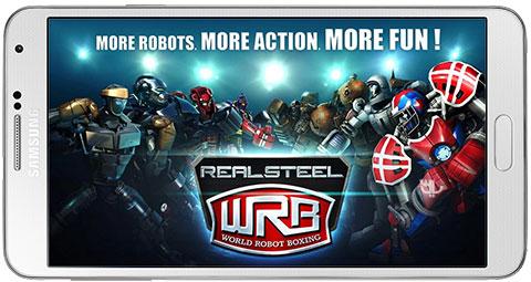 دانلود بازی Real Steel World Robot Boxing برای اندروید + نسخه بی نهایت + دیتا
