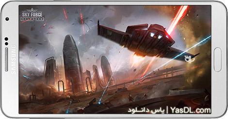 دانلود بازی Sky Force Reloaded 1.65 - نیروی هوایی برای اندروید + دیتا + پول بی نهایت