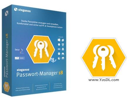 دانلود Steganos Password Manager 18.0.2 - نرم افزار مدیریت حرفه ای پسورد