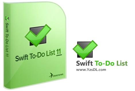دانلود Swift To-Do List 11.003 + Portable - مدیریت و برنامه ریزی امور شخصی