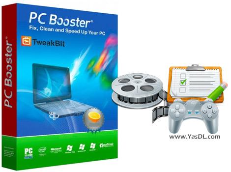 دانلود TweakBit PCBooster 1.7.3.0 - نرم افزار افزایش کارایی سیستم