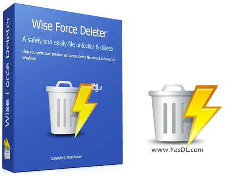 دانلود Wise Force Deleter 1.42.35 + Portable - رفع ارورهای ویندوز در هنگام حذف فایل ها