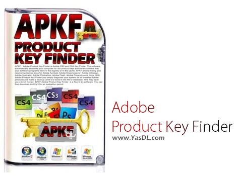 دانلود APKF Adobe Product Key Finder 2.4.4.0 + Portable - پیدا کردن سریال فعال سازی محصولات ادوبی