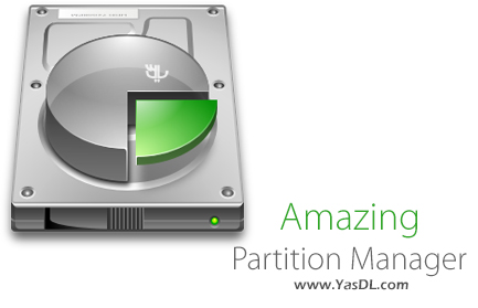 دانلود Amazing Partition Manager 5.1.1.8 + Portable - نرم افزار پارتیشن بندی