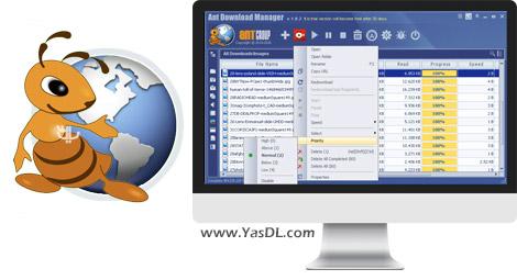 دانلود Ant Download Manager PRO 1.2.0.34841 - نرم افزار مدیریت دانلود