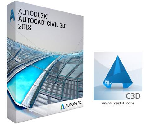 دانلود Autodesk AutoCAD Civil 3D 2018 x64 - اتوکد شهرسازی