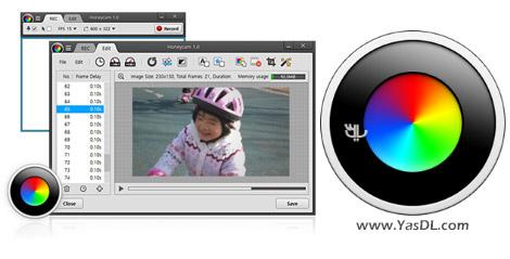 دانلود Bandisoft Honeycam 1.04 - فیلمبرداری در فرمت GIF از محیط ویندوز