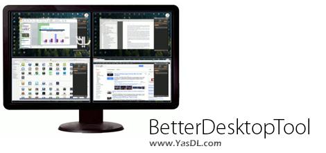دانلود BetterDesktopTool 1.92 + Portable - مدیریت بهتر پنجره ها در دسکتاپ