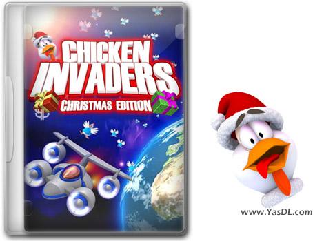دانلود بازی کم حجم Chicken Invaders 5 Christmas Edition برای کامپیوتر