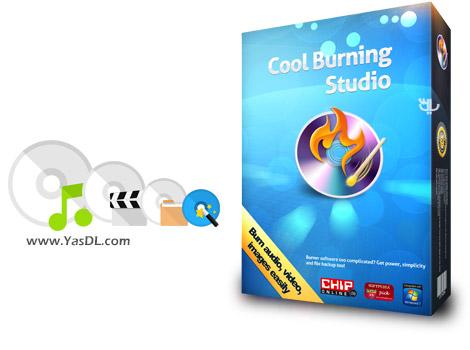 دانلود Cool Burning Studio 9.8.0 - نرم افزار رایت آسان دیسک های CD/DVD