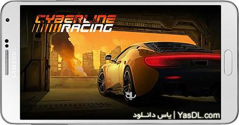 دانلود بازی Cyberline Racing 1.0.10480 - اتومبیل رانی در دنیای آینده برای اندروید + دیتا