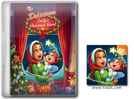 دانلود بازی کم حجم Delicious 14 Emilys Christmas Carol Collectors Edition برای کامپیوتر