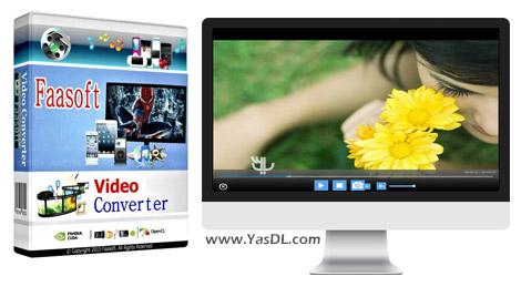 دانلود Faasoft Video Converter 5.4.16.6193 + Portable - ویرایش و تبدیل فایل های ویدیویی